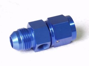 "-08 an Flare to -08 an Female with 1/8"" NPT Adapter"