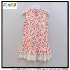 Sleeve Kids Wear Round Neck Kids Dress pictures & photos