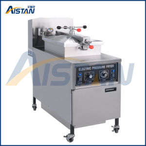 Electric or Gas Type 304 Stainless Steel Chip Pressure Fryer of Bakery Equipment pictures & photos