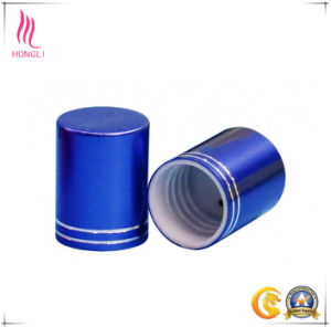 Colored Round Perfume Metal Aluminum Lid and Screw Cap for Bottle pictures & photos