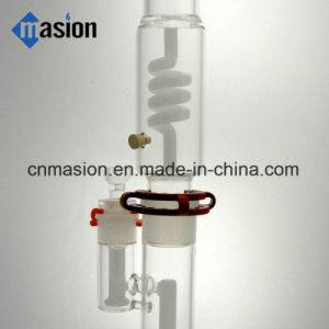 Twisted Percolating White Jade Water Pipe (BY003) pictures & photos