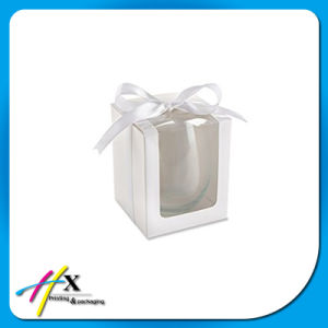 Customized Glass Paper Packaging Box with Clear Window pictures & photos