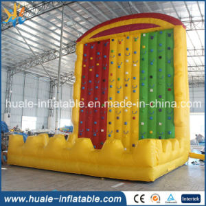High Quality Safe Inflatable Rock Climbing Wall for Sale