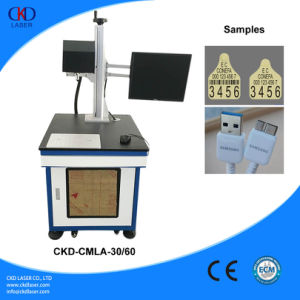 CO2 Laser Marking Machine on Nonmetal pictures & photos