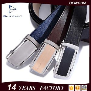 Factory Supply Handmade Fashion Men Metal Buckle Leather Waist Belt pictures & photos