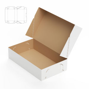 Colorful Printing Corrugated Paper Box with Clear Window pictures & photos