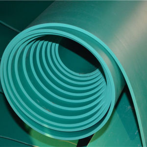 Favtory Price Green Insulated Rubber Sheet with 4mm Thickness pictures & photos