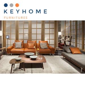 Home Furniture Living Room Corner Sofa with Metal Frame