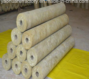 High Quality Rock Wool Pipe for Heat Insulation of Various Hot and Cold Pipelines