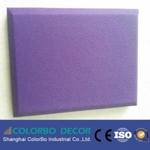 High Sound Absorption Fabric Wall Decorative Panel pictures & photos