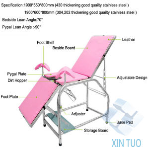 Gynaecological Physical Therapy Tables/Electric PT Training Bed pictures & photos