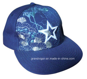 Factory Acrylic Snapback Hat with Custom Printing Designs pictures & photos