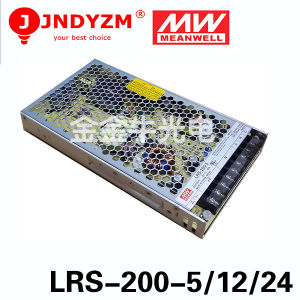 Aluminum Switching Power Supply Meanwell Lrs-200-5 Super Silm Power Supply
