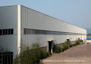 Prefabricated Steel Structure Building for Warehouse, Workshop
