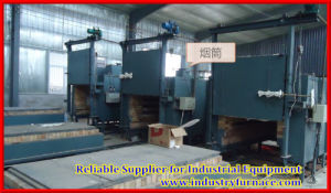 Bogie Hearth Electric Heat Treatment Furnace pictures & photos