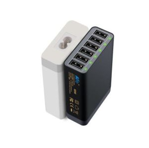 Hot Selling Universal Phone USB Travel Charger with 6 Port
