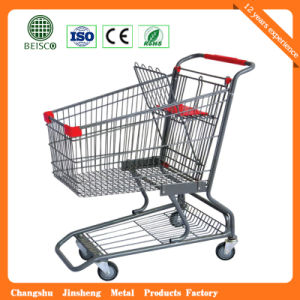 Ce Proved Supermarket Shopping Trolley (JS-TAM04) pictures & photos