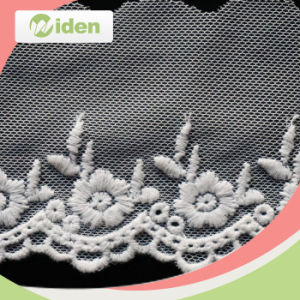 Delicate Pattern Lovely Double Organza Lace pictures & photos