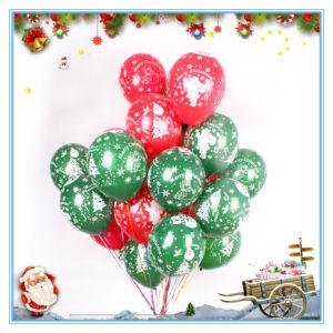 christmas 12 inch christmas tree latex balloons