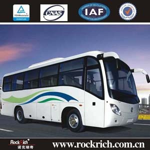 Dongfeng Brand New Model 8.3m 35 Seater Diesel Engine Passenger Tourist Coach Bus for Sale