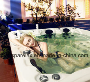 Noble 6 Person Hot Tub with Lover Lounges 91 Jets pictures & photos