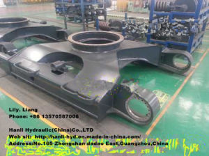 Hydraulic Komatsu Crawler Frame for Excavator Undercarriage Parts