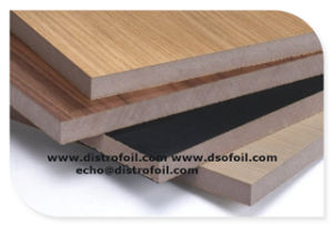 Woodgrain, Solid Color Heat Transfer Foil for Kitchen Cabinets pictures & photos
