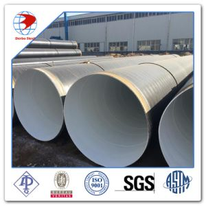 GB Q195 Q235 Q345 SSAW Spiral Welded Steel Pipe for Oil and Gas Manufacturing pictures & photos