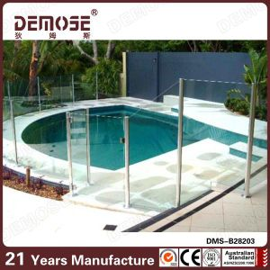 Yard Above Ground Glass Pool Fence In Brisbane DMS B28203