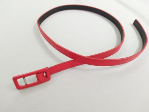 Fashion Red Woven′s PU Belt pictures & photos
