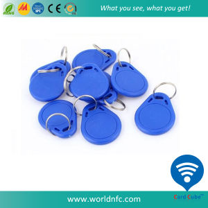 Factory Price Waterproof Keyfob, Key Chain/Tag Em4100 RFID for Access Control pictures & photos