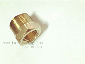 NPT Male Pipe X NPT Female Pipe Hex Bushing Brass Pipe Fitting