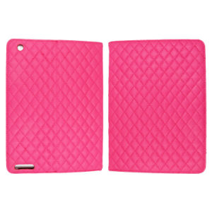 Bracket Lattice PU Leather Cases for Tablet