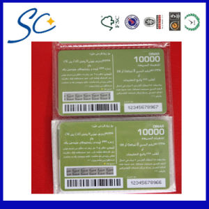Scratch Phone Card for Business Promotion