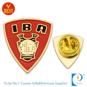 China Metal Customized Branded Imitation Enamel Souvenir Pin Badge in High Quality pictures & photos