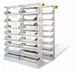 china library shelves library shelves manufacturers suppliers made in chinacom - Metal Library Bookshelves