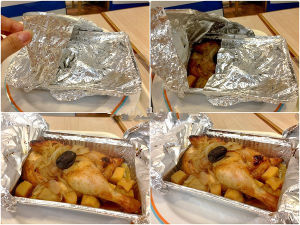 Catering Aluminum Foil Food Trays pictures & photos