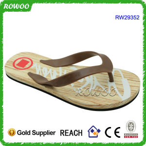 New Design EVA Beach Summer Men Flip Flopr Slipper (RW29352)