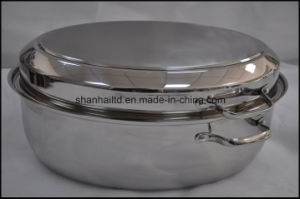 Fish Plate Chicken Roast Pan Stainless Steel Roaster Pan pictures & photos