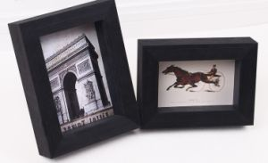 3D Deep Wooden Shadow Box Photo Frames pictures & photos
