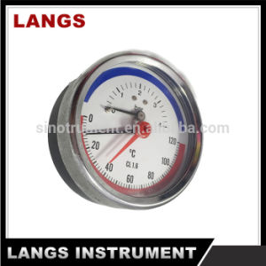 040 Pressure & Temperature Gauge pictures & photos