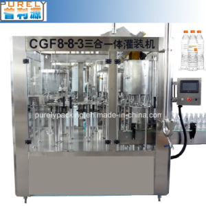 Cgn8-8-3 Fully Automatic Washing Filling and Capping Three in One Machine for Water