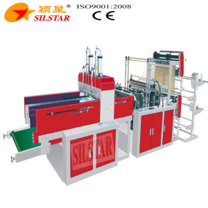 T-Shirt Bag Making Machine with Automatic Punch pictures & photos
