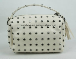 Best Selling PU Fashion Cosmetic Bag with Studs (KCCA024)