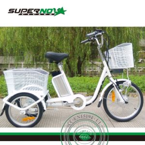 3 Wheel Electric Cargo Bicycle with Lithium Battery pictures & photos