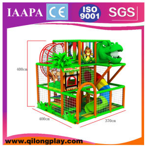 Little Jungle Playground Structure with Dragen Head (QL-18-17) pictures & photos