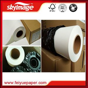 57GSM Jumbo Roll 36inch (910mm) Non-Curl Fast Dry Sublimation Transfer Paper pictures & photos