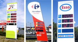 Outdoor Waterproof LED Gas Price Sign pictures & photos