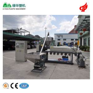 PVC Powder Plastic Recycling Extruder pictures & photos
