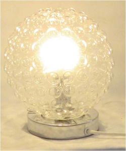 Glass Bubble Table Lamp
